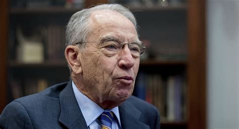 Grassley derides those who spend all their money 'on booze