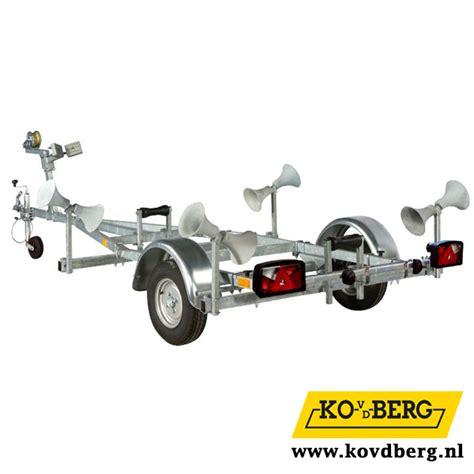 Pega Euroliner Boottrailer by Pega Boottrailers Ko Van Den Berg Levert Uw Pega