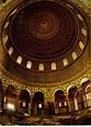 Jerusalem - Dome of the rock. Interior, Jerusalem - Israel ...