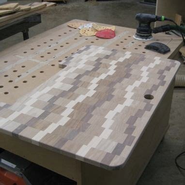custom cutting board sink cover  glessboards