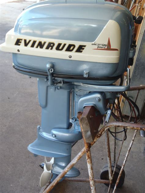 Owning A Small Motor Boat by Vintage Outboard Engine Thumbnailed Pictures