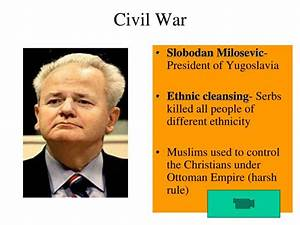 PPT - Former Yugoslavia: Genocide in the 1990's PowerPoint ...
