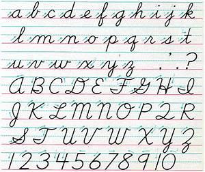 cursive handwriting chart hand writing With cursive letter alphabet chart