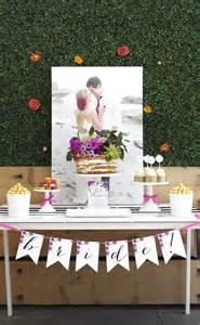 Garden Party Bridal Shower Ideas