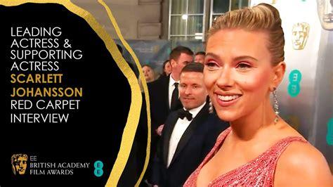 Scarlett Johansson's Red Carpet Interview | EE BAFTA Film ...