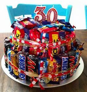 Torte Zum 50 Geburtstag Selber Machen : torte aus s igkeiten f r 30 geburtstag geschenke verpacken pinterest geburtstag ~ Frokenaadalensverden.com Haus und Dekorationen