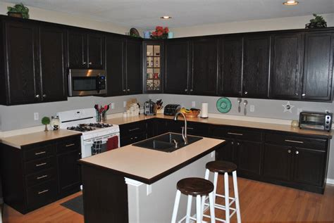 staining kitchen cabinets ideas loccie better homes