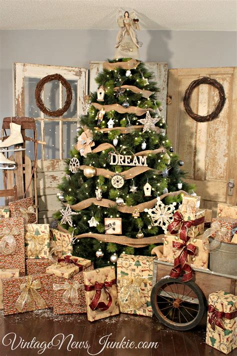rustic christmas tree decorations when dreams come true our big christmas tree reveal