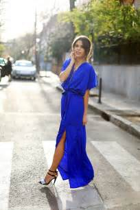 Wedding Guest Maxi Dresses in Blue