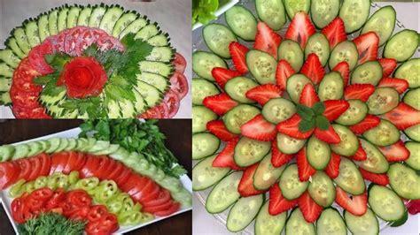 simple easy salad decoration ideasnew salad decoration