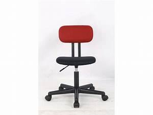 Conforama Chaise Bureau : chaise dactylo una coloris rouge noir vente de fauteuil de bureau conforama ~ Teatrodelosmanantiales.com Idées de Décoration