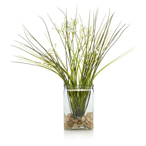 Living Room Accessories Asda by George Home Artificial Grass Vase Vases Asda Direct