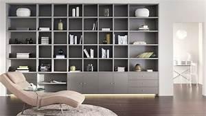 Bibliothèque Moderne Design : d coration bibliotheque sur mesure ~ Teatrodelosmanantiales.com Idées de Décoration
