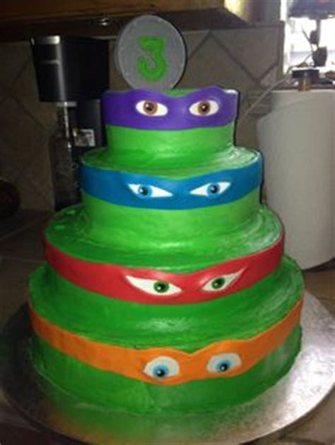 tmnt cake cupcakes   picture  easy