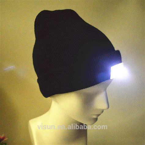 beanie with light unisex winter knitted new led light beanie hat buy 4led