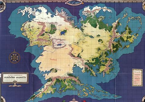 map  middle earth middle earth fanatic middle earth