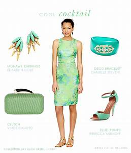 mint and aqua cocktail dress for a wedding guest With green dress for a wedding guest