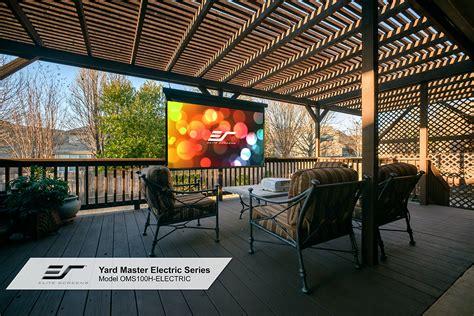Best DIY Backyard Movie Projector Screen Yard Master