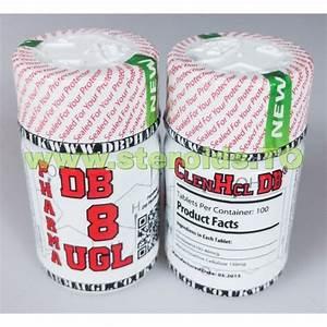 Clenbuterol Hcl Db Pharma 100 Comprim U00e9s  40mcg    Onglet