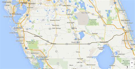 florida 70 road state sr towns coast west east bradenton highways pierce trip gulf fort trips sr70 backroads travel miles