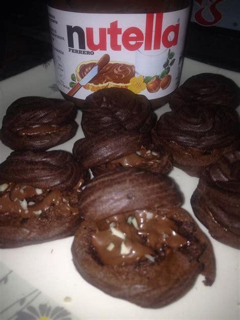 resepi cream puff coklat nutella sukatan cawan sedap