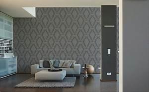 Tapeten furs wohnzimmer bei hornbach for Markise balkon mit tapeten wohnzimmer modern grau