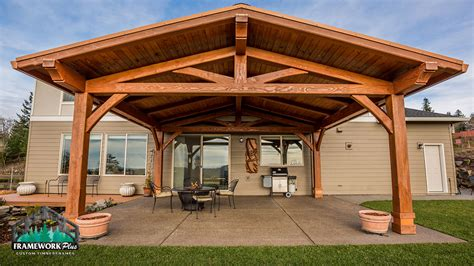 patio pavilion attached to house studio design