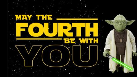 Every month on the 4th can be a star wars day (the 4th be with you). May the 4th Be With You - NRN • New Right Network