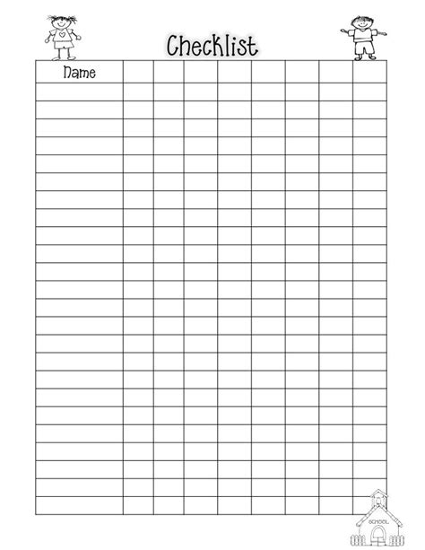 c template class class list blank 11 12 pdf forms handouts and worksheets
