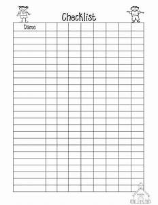 9 best images of blank checklist pdf printable templates With blank checklist template pdf