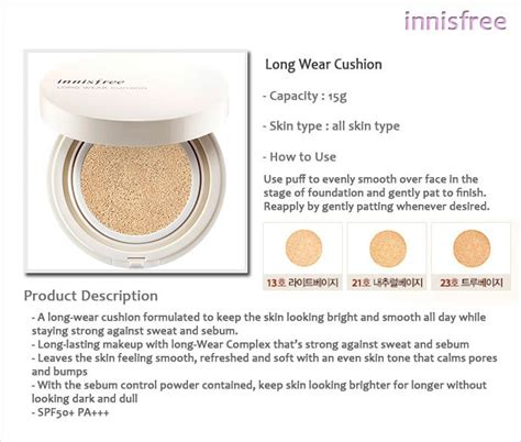 innisfree cushion review innisfree wear cushion beautifulbuns a
