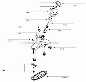 Moen Ca84502 Parts List And Diagram   Ereplacementparts Com