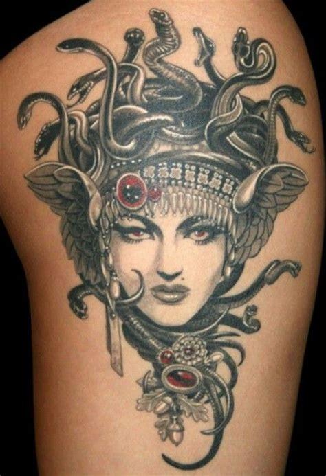 tattoo kopf der medusa bein tattoo tattoo vorlagen