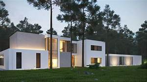 white-stone-home-exterior Interior Design Ideas