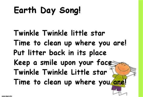earth songs for preschoolers earth day song poems earth 440