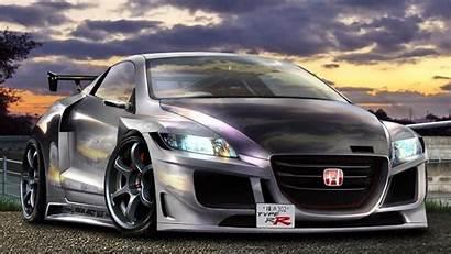 Honda Tuning Cr Cars 3d Wallpapers