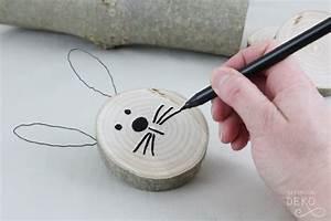 Basteln Mit Baumscheiben : diy osterhasen aus astscheiben nat rlich deko ~ Watch28wear.com Haus und Dekorationen
