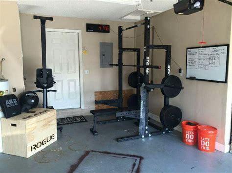 gym setup garage interior indoor lab gyms julie