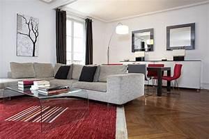 Décoration Appartement Moderne : d coration appartement haussmannien moderne ~ Nature-et-papiers.com Idées de Décoration