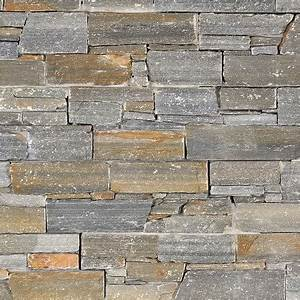Plaquette De Parement Brico Depot : parement quartzite gris fonc varallo grigio indoor by capri ~ Dailycaller-alerts.com Idées de Décoration
