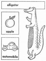 Coloring Quilt Alphabet Embroidery Abc Embroidered Alligator Qisforquilter sketch template