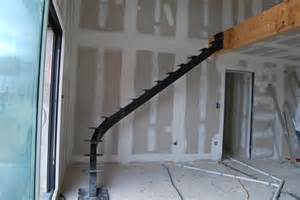 Fabriquer Escalier Limon Central by Escalier Toulouse Limon Central 1 Quart Tournant