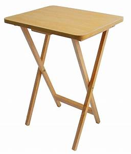 Easy Wooden Folding Table for Practical Furniture Styles