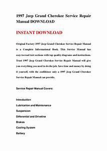 1997 Jeep Grand Cherokee Service Repair Manual Download
