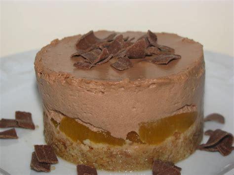 entremet abricots chocolat au lait recette