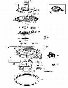 Samsung Model Dmt800rhs  Xaa Dishwasher Genuine Parts