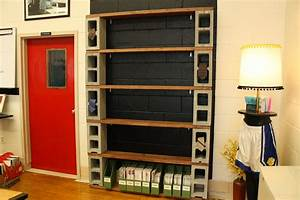 D, I, Y, Cinder, Block, Shelves, For, Displaying, Student, Work, Or, Great, For, Books, Magazines, Etc