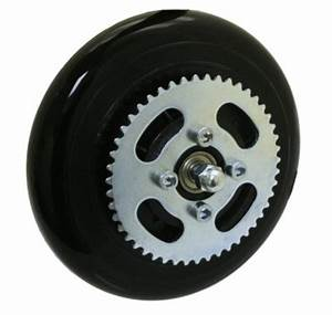 Razor Trikke E2 Front Wheel Complete