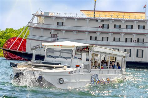 Duck Boat Tours Branson by Ride The Ducks Table Rock Lake Adventure In Branson Mo