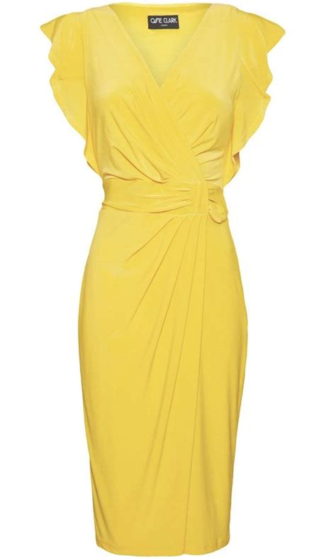 The 25+ best ideas about Yellow Dress on Pinterest | Mustard bridesmaid gown colours Yellow ...